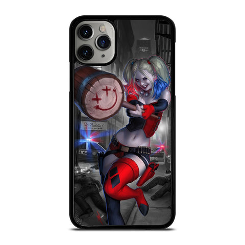 HARLEY QUINN HAMMER-iphone-case