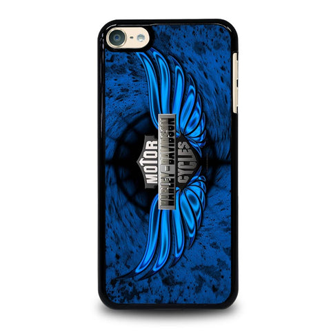 HARLEY DAVIDSON CYCLES iPod Touch 4 5 6 Generation 4th 5th 6th Case - Best Custom iPod Cover Design