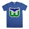 HARTFORD WHALERS-mens-t-shirt-Blue