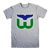 HARTFORD WHALERS-mens-t-shirt-Gray
