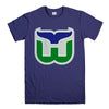 HARTFORD WHALERS-mens-t-shirt-Purple