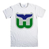 HARTFORD WHALERS-mens-t-shirt-White