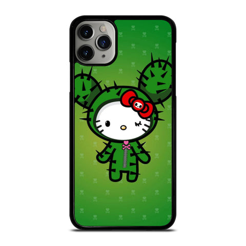 HELLO KITTY DOKITOKI DONUTELLA iPhone 6/6S 7 8 Plus X/XS XR 11 Pro Max Case - Best Custom Phone Cover Design