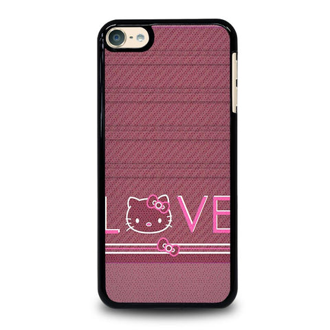HELLO KITTY VINTAGE iPod Touch 4 5 6 Generation 4th 5th 6th Case - Best Custom iPod Cover Design
