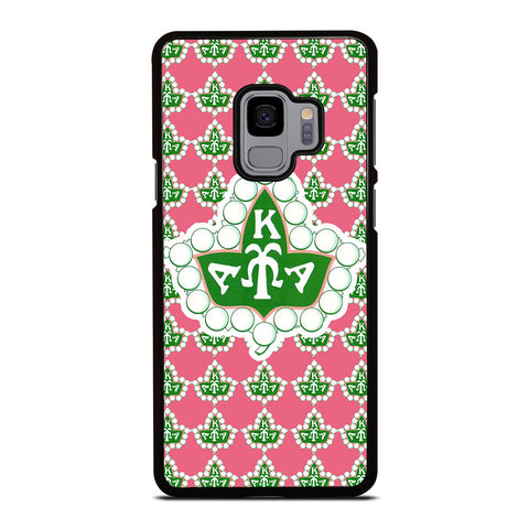 HOT AKA PINK AND GREEN Samsung Galaxy S9 Case