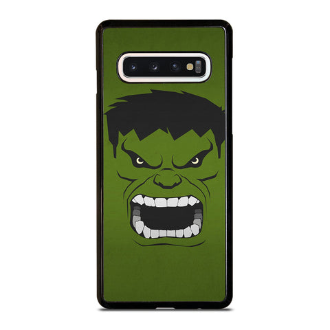 HULK MARVEL COMICS MINIMALISTIC Samsung Galaxy S4 S5 S6 S7 S8 S9 S10 5G Plus S10e Edge Plus Note 5 8 9 10 Plus Case - Best Custom Phone Cover Design