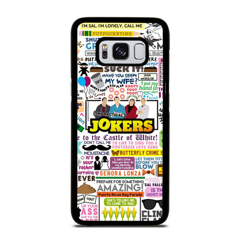 IMPRACTICAL JOKERS QUOTES Samsung Galaxy S8 Case