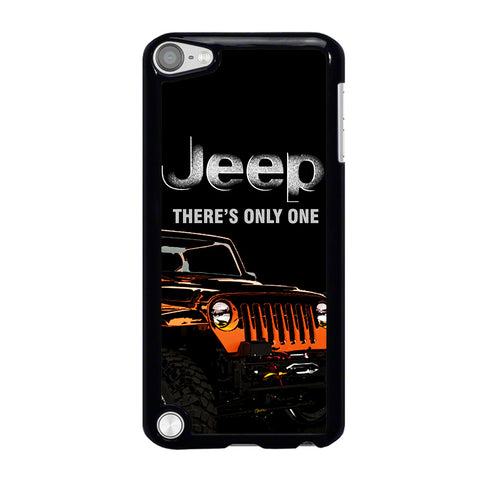 JEEP THERE'S ONLY ONE-ipod-touch-5-case