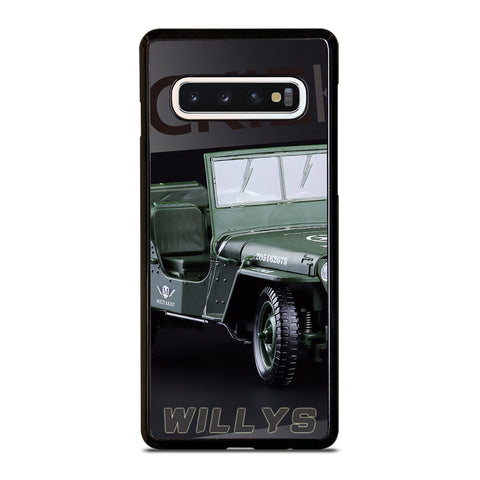 JEEP WILLYS TRUCK Samsung Galaxy S4 S5 S6 S7 S8 S9 S10 5G Plus S10e Edge Plus Note 5 8 9 10 Plus Case - Best Custom Phone Cover Design