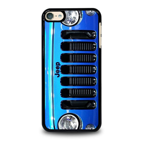 JEEP WRANGLER POLAR FRONT BLUE iPod Touch 4 5 6 Generation 4th 5th 6th Case - Best Custom iPod Cover Design