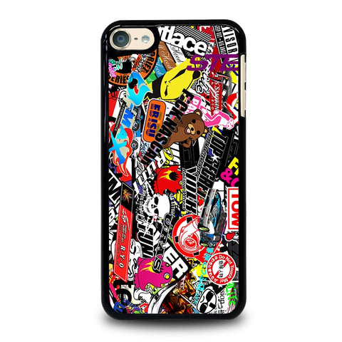 JMD STYLE VINILO STICKER BOMB iPod Touch 4 5 6 Generation 4th 5th 6th Case - Best Custom iPod Cover Design