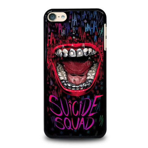 JOKER COMIC SUICIDE SQUAD HAHAHA iPod Touch 4 5 6 Generation 4th 5th 6th Case - Best Custom iPod Cover Design