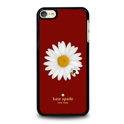 KATE SPADE FLOWER AND BEE-ipod-touch-6-case