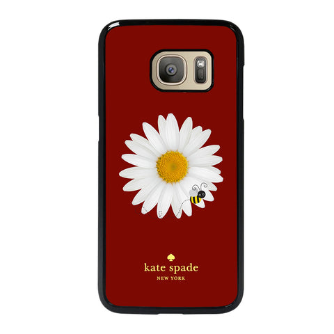 KATE SPADE FLOWER AND BEE-samsung-galaxy-S7-case