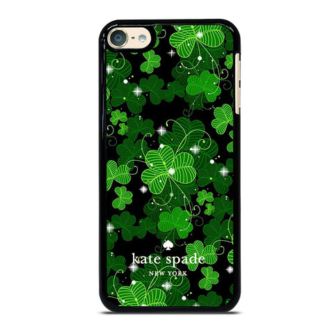 KATE SPADE GREEN LEAFS iPod Touch 4 5 6 Generation 4th 5th 6th Case - Best Custom iPod Cover Design