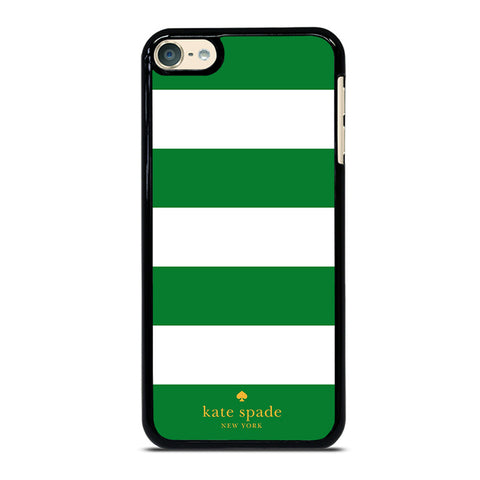 KATE SPADE GREEN STRIPE iPod Touch 4 5 6 Generation 4th 5th 6th Case - Best Custom iPod Cover Design