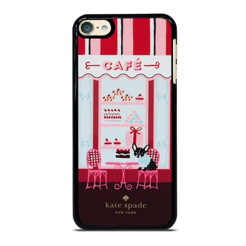 KATE SPADE NEW YORK CAFE iPod Touch 4 5 6 Generation 4th 5th 6th Case - Best Custom iPod Cover Design