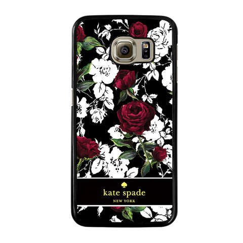 KATE SPADE ROSE RED WHITE-samsung-galaxy-S6-case