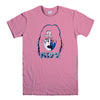 KISS ACE FREHLEY-mens-t-shirt-Pink