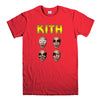 KITH FUNNY MIKE TYSON KISS PARODY-mens-t-shirt-Red
