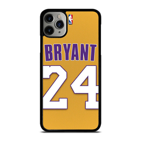 KOBE BRYANT JERSEY 24-iphone-11-pro-max-case