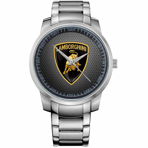 LAMBORGHINI LOGO-Recovered-metal-watch
