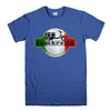 LAMBRETTA SCOOTER-mens-t-shirt-Blue