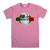 LAMBRETTA SCOOTER-mens-t-shirt-Pink