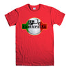 LAMBRETTA SCOOTER-mens-t-shirt-Red