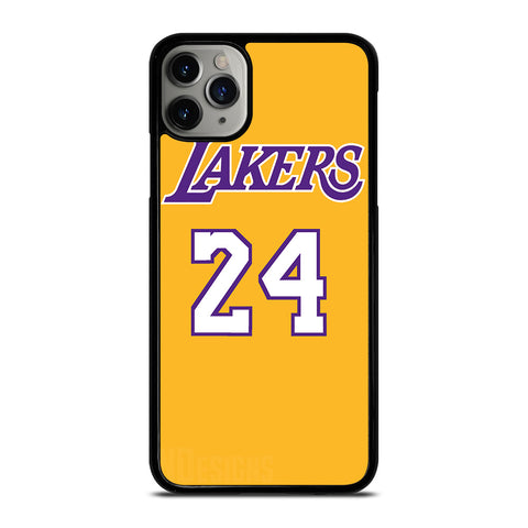 LA LAKERS JERSEY 24 KOBE BRYANT-iphone-11-pro-max-case