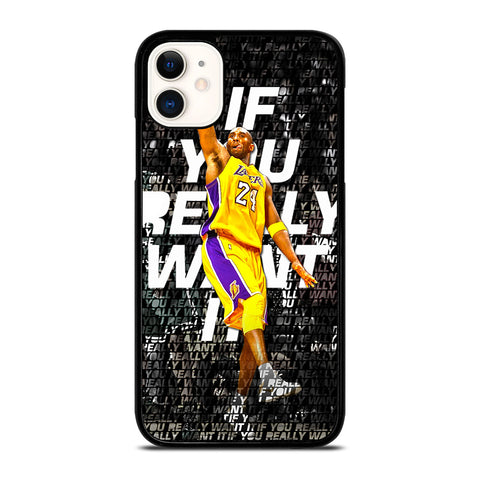 LA LAKERS KOBE BRYANT iPhone 11 Case
