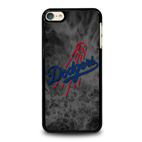 LA DODGERS DARK FLAMES iPod Touch 4 5 6 Generation 4th 5th 6th Case - Best Custom iPod Cover Design