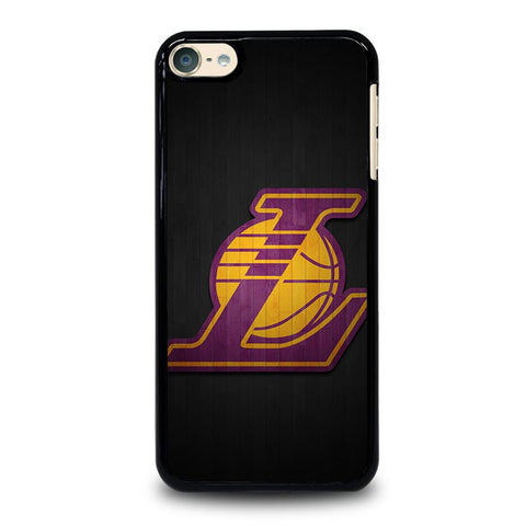 LA LAKERS WOODEN LOGO iPod Touch 4 5 6 Generation 4th 5th 6th Case - Best Custom iPod Cover Design