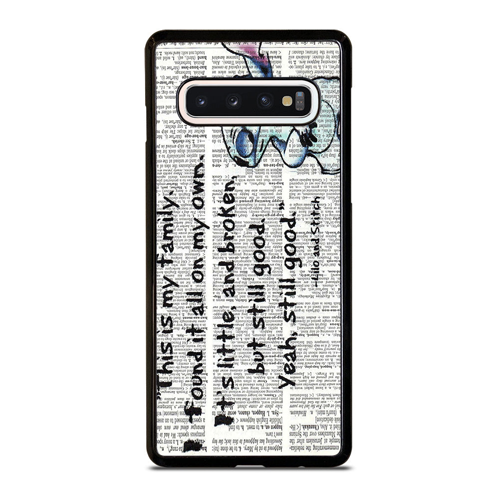 Lilo And Stitch Quotes Disney Iphone 44s 55sse 5c 66s 7 8 Plus X
