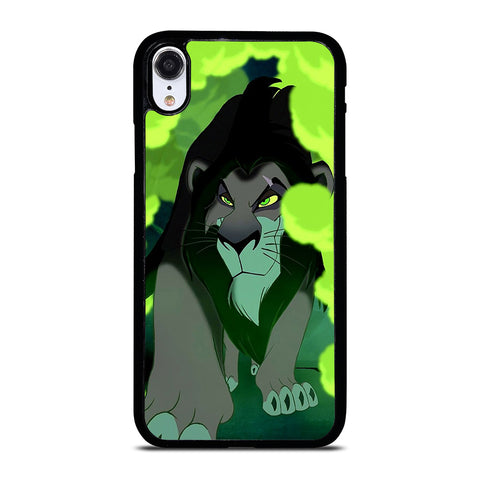 LION KING SCAR MUFASA DISNEY iPhone XR Case