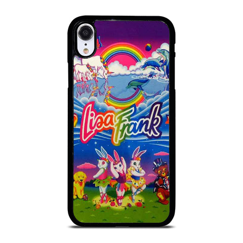 LISA FRANK LOGO-iphone-xr-case