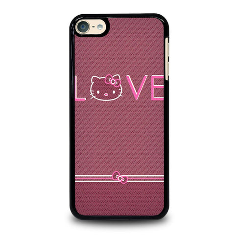 LOVE HELLO KITTY iPod Touch 4 5 6 Generation 4th 5th 6th Case - Best Custom iPod Cover Design