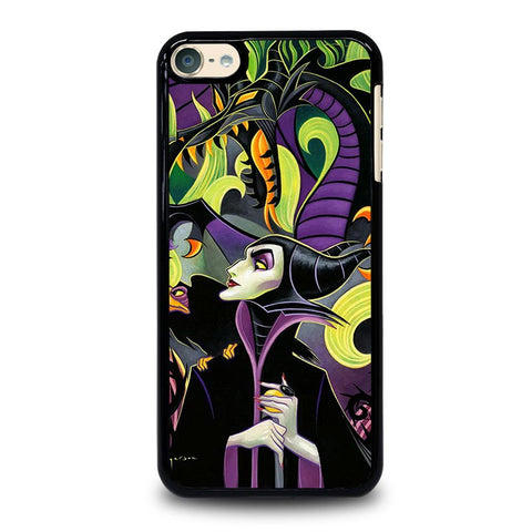 MALEFICENT'S DISNEY ART iPod Touch 4 5 6 Generation 4th 5th 6th Case - Best Custom iPod Cover Design