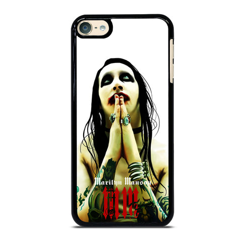 MARILYN MANSON GOTH iPod Touch 4 5 6 Generation 4th 5th 6th Case - Best Custom iPod Cover Design