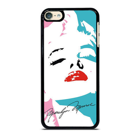MARILYN MONROE SIGNATURE iPod Touch 4 5 6 Generation 4th 5th 6th Case - Best Custom iPod Cover Design