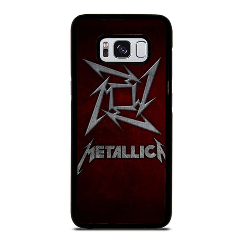 METALLICA HEAVY METAL ROCK Samsung Galaxy S8 Case