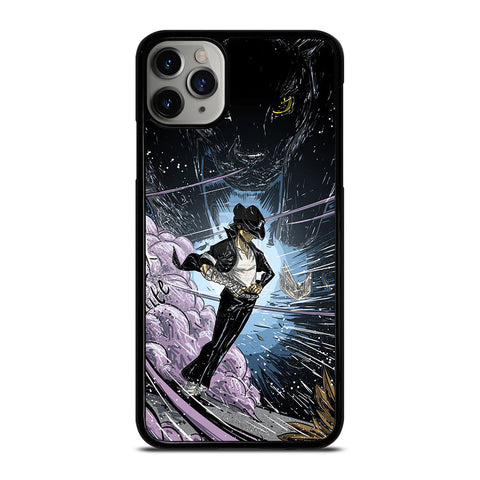 MICHAEL JACKSON CARTOON ART iPhone 6/6S 7 8 Plus X/XS XR 11 Pro Max Case - Best Custom Phone Cover Design