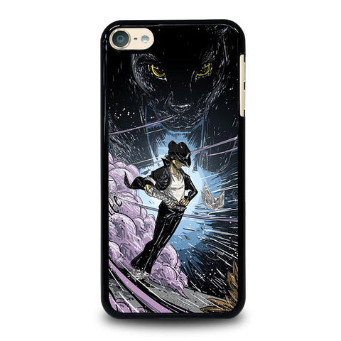 MICHAEL JACKSON CARTOON ART iPod Touch 4 5 6 Generation 4th 5th 6th Case - Best Custom iPod Cover Design