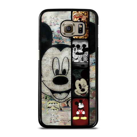 MICKEY MOUSE PAPER Samsung Galaxy S6 Case