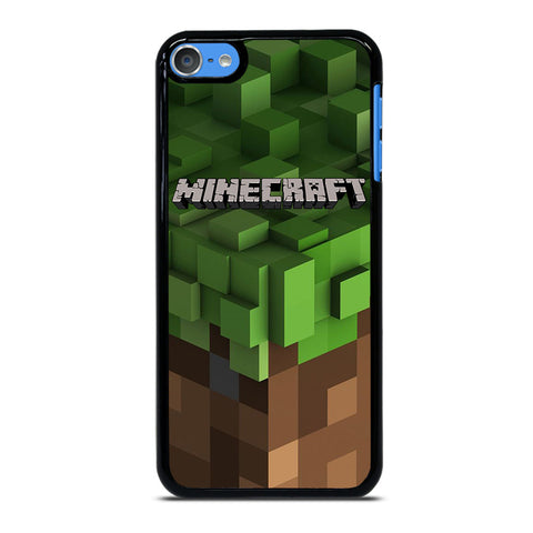 MINECRAFT LOGO CUBE iPod Touch 7 Case