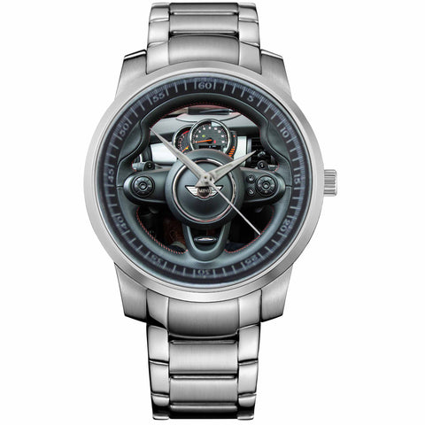 MINI COOPER-S HARDTOP STEERING-metal-watch