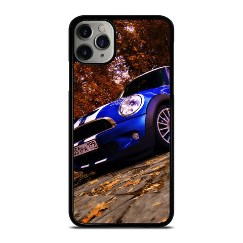 MINI COOPER BLUE iPhone 6/6S 7 8 Plus X/XS XR 11 Pro Max Case - Best Custom Phone Cover Design