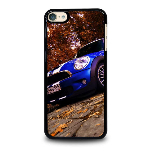 MINI COOPER BLUE iPod Touch 4 5 6 Generation 4th 5th 6th Case - Best Custom iPod Cover Design