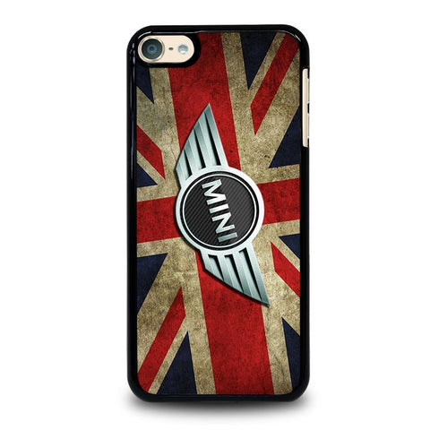 MINI COOPER FLAG DESIGN iPod Touch 4 5 6 Generation 4th 5th 6th Case - Best Custom iPod Cover Design