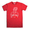 MORRISSERY 1-mens-t-shirt-Red